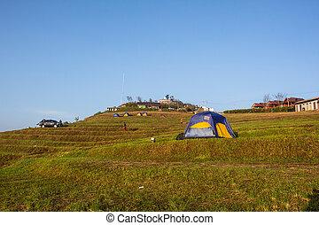 Phu tab berk landscape,Petchabun Thailand