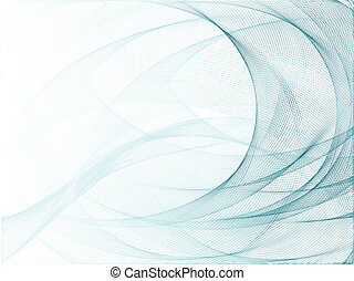 Vector modern abstract background - Blue vector futuristic...