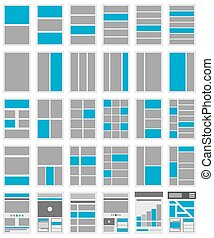 Illustration of Website Flowcharts and Site Maps - An...