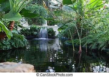 Indoor Water Fountain - Beautiful indoor water fountain...