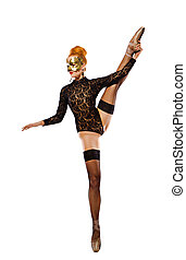 dancing naked woman - picture of dancing naked redhead over...