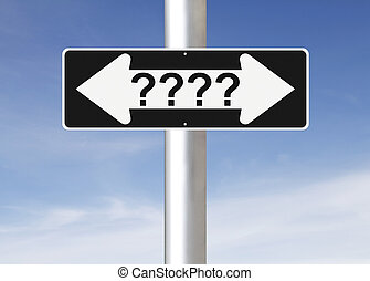 Confusion - A modified one way sign on decision making