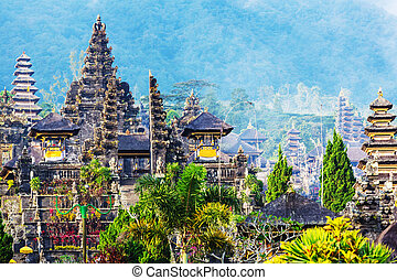 Besakih - Pura Besakih temple, Bali, Indonesia