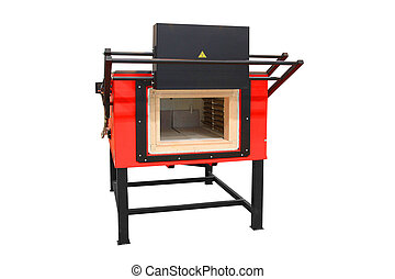 furnace for heating steel - Laboratory furnace for heating...