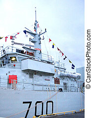Kingston the Naval Signal Flags of Sweeper Kingston 2008 -...