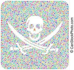 Decorative Pirate Sign