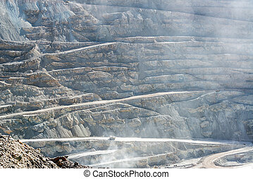 View of Chuquicamata Copper Mine