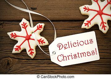 Wünsche, Weihnachten, köstlich