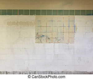 Grimy Subway Wall