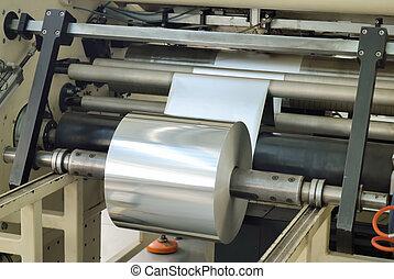 foil production - reel aluminum baking foil production