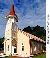 bora bora church