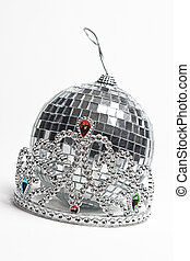 Prom night accessorie - Tiara and disco ball, two important...