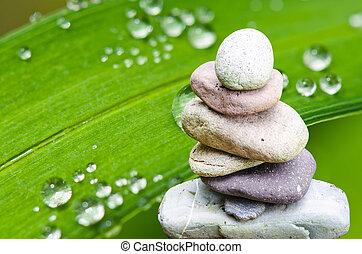 Spa, Feng Shui, balance - Balance, balance, serenity stone...