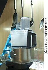 food processor - professional food processor at modern...