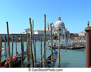 Grand canal in Venice,Italy - Grand canal in Venice Italy...