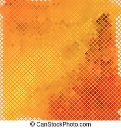 mosaic with warm colors - abstract mosaic background with...