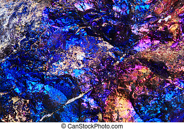 chalcopyrite rainbow background - chalcopyrite metal mineral...