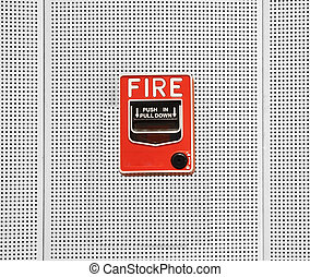 fire break glass to cover each alarm.