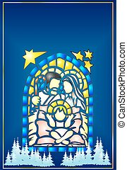 Stained Glass Christmas,