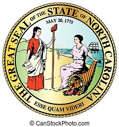 North Carolina State Great Seal - The North Carolina State...