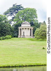 Temple of Ancient Virtue, Stowe, Buckinghamshire, England