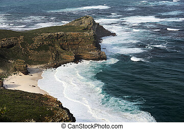 Cape of Good Hope - Panorama of the Cape of Good Hope South...