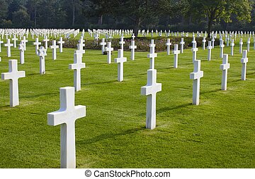 Normandy American Cemetery, WWII