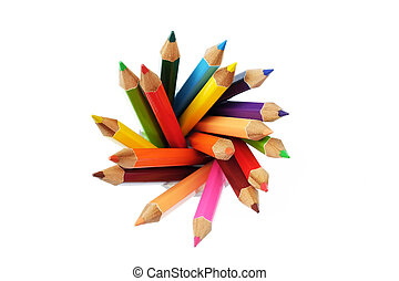 colored pencil - A colored pencil, coloured pencil see...