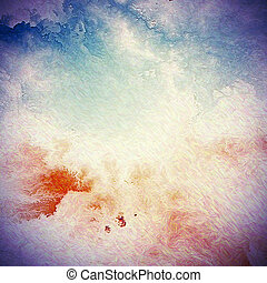 Grunge background or texture for your design. With different...