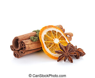 Christmas food decoration spices