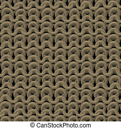 Wool knitting seamless generated texture