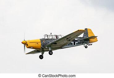 Nazi aircraft - SLIAC, SLOVAKIA - AUGUST 30: Nazi aircraft...
