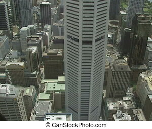 Sydney scyscrapers - skyline - SYDNEY - office buildings,...