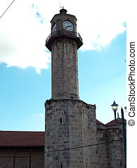 Tarsus-Turkey - Clock tower of Ulu Mosque in Tarsus ,Turkey