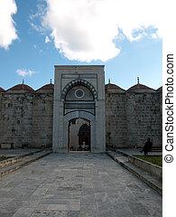 Tarsus-Turkey - View  of Ulu Mosque in Tarsus ,Turkey