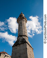 Tarsus-Turkey - Minaret of Ulu Mosque in Tarsus ,Turkey