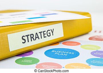 Strategy Business Plan and SWOT analysis - Binder of...