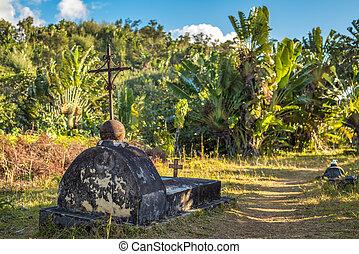 passado, piratas, ilha,  ST, cemitério,  madagscar,  mary
