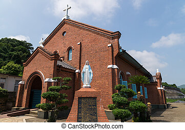 Kurosaki Church, Nagasaki Japan - Kurosaki Church, one of...