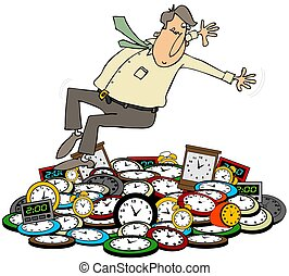 Daylight savings time Illustrations and Clipart. 405 Daylight ...