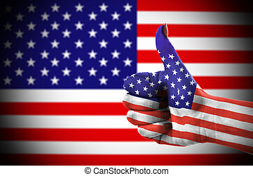 Thumb up for USA 2