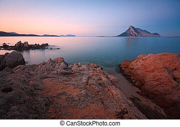 Coast of Sardinia, Italy - Marine reserve in Sardinia, Italy...