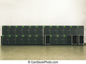 Cabinets safes luggage