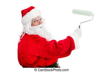 DIY Home Improvement Santa