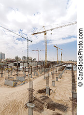 Construction site - Construction site in the centre of...