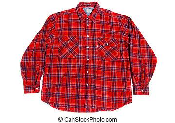 warm winter shirt - warm winter cotton flannel shirt on...