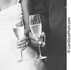 Champagne Toast - Wedding Champagne Toast