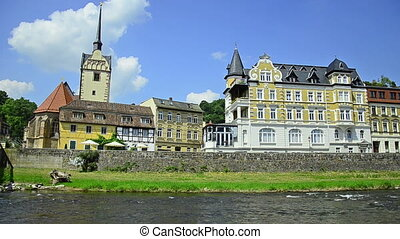 city Gera, Germany - Untermhaus - Gera - city in Thuringia,...