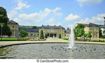 Orangerie in Gera, Thuringia German - Gera - city in...