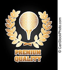 golf design - golf graphic design , vector illustration